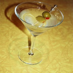 Dan Fay Martini Recipe - My father believes in a condition called 'the gin meanies.' He invented this cocktail to satisfy his taste for gin, while allowing him to slightly dilute its effects with vodka. His passion for this concoction quickly spread to my friends, who have been known to throw parties solely to celebrate him and his martini.