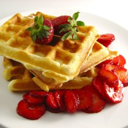 Classic Waffles Recipe and Video - A classic waffle recipe includes basic ingredients you probably already have on hand, creating a perfectly crisp breakfast item.