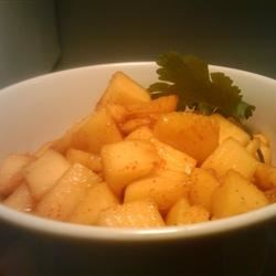 Mexican Mango Recipe - This spicy, chili-soaked mango is a tasty, easy to make snack! I got this from my boyfriend's mom, authentic Hispanic!