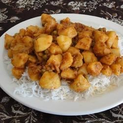 Batata Nu Shak (Potato Curry) Recipe - This spicy potato dish is delicious served with rice.