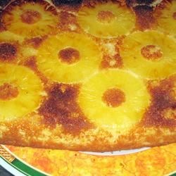 Pineapple Cake I Recipe - Finally ... here is an easy, delicious, cake for pineapple lovers!  And it's lower in fat than most other cakes!