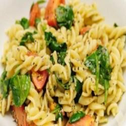 Hearty Pasta with Greens Recipe - Allrecipes.com
