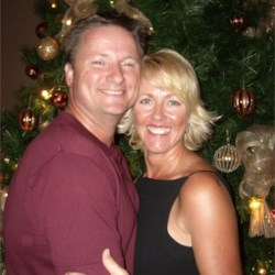My husband, Jim and I, Dec 2006 - Guam