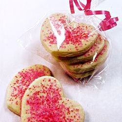 Pope's Valentine Cookies Recipe and Video - Rich and delicious cut-out cookies - wonderful for special holiday celebrations!  These are the best cut-out cookies the long line of bakers in our family has ever found.