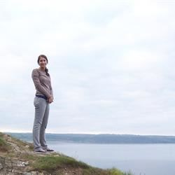 Ireland cliff