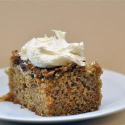 Lite Carrot Cake Recipe - An alternative to the usually high fat carrot cake.  Moist and delicious.