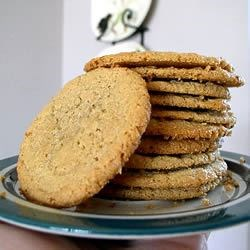 Gluten-Free Peanut Butter Cookies Recipe - This recipe is gluten-free and delicious!  Pecans are great in these, but feel free to use peanuts or any other nut you choose.