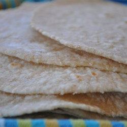 Oat Bran Tortillas Recipe - Great for tacos and quesadillas, these tortillas also have added flavor and fiber from oat bran.