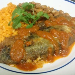 Chiles Rellenos (Stuffed Peppers) Recipe - This is a great traditional Mexican dish. It takes a little bit of time, but it is worth every minute! Provecho! Serve with a side of Spanish Rice.