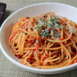 Chef John's Spaghetti al Tonno  Recipe and Video - This recipe for spaghetti with tuna is quick, easy, and has all the rich flavor of a classic meat sauce. It's ready in less than an hour!