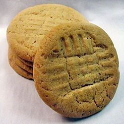 Moist and Chewy Peanut Butter Cookies Recipe - A little less fat than regular peanut butter cookies.