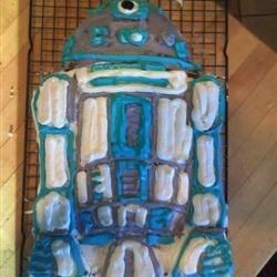 Artoo cake - attempt 2