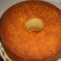 Something Different Pound Cake Recipe - I got this recipe from my aunt many years ago.  It is the best, most unique tasting cake ever.  All of my friends rave about it and request it.