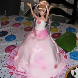 Makena's 3rd Birthday Cindarella cake