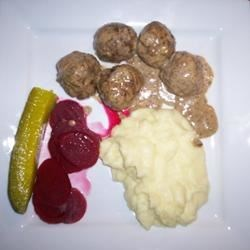Traditional Finnish Meal