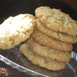Ranger Cookies I Recipe - This is an old recipe from the 20's and 30's using crispy rice cereal and oatmeal to make crispy cookies.