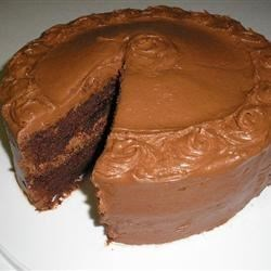 Jan's Chocolate Cake Recipe - This is an absolutely delicious, no-fail chocolate cake.