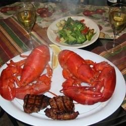Surf n Turf - Filet Mignon and Lobster