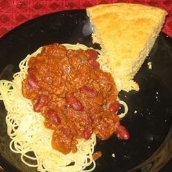 Cincinnati-Style Chili w/ Irish Spicy Cornbread (December 22, 2009)