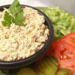 Barbie's Tuna Salad Recipe and Video - Curry and Parmesan cheese are the secret ingredients in this tuna salad recipe! I have never tasted another tuna salad like it.