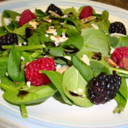Simple Cranberry Spinach Salad Recipe - This is a simple salad that can be made in minutes. It works well at Thanksgiving or anytime you're just looking for something a little different.