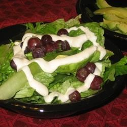 Blue Cheese, Avocado, & Grape Salad (January 5, 2010)