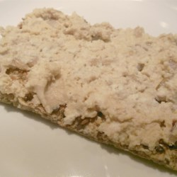Savory TMT Sandwich Filling Recipe - TMT  - tofu, miso and tahini. How can you lose with this sandwich! Minced onion, carrot and toasted sesame seeds are in there too. Chill. Then serve on crackers as an hors d 'oeuvre, or spread on thick slices of bread and serve open faced.