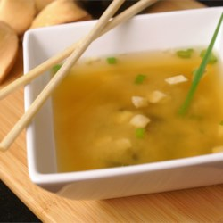 Miso Soup Recipe and Video - You can use yellow, white, or red miso paste for the soup, depending on your preference.  You will also need dashi, which is made of dried kelp (seaweed) and dried bonito (fish), and can be purchased in granules or powder form in conveniently-sized jars.