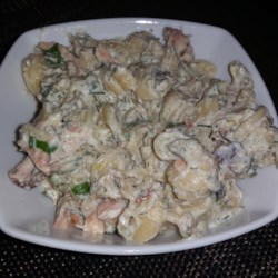 Pasta With Creamy Smoked Salmon And Dill