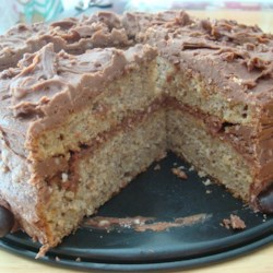 Banana Cake VII Recipe - I developed this recipe after trying many versions and I like this one the best. It's moist and has a sponge-like consistency and is very simple to make.  It can also be used in a 9x13 pan.