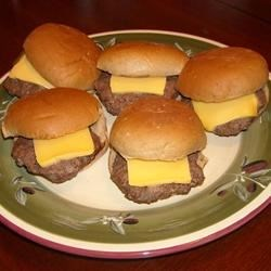Baby Burgers on Baguettes