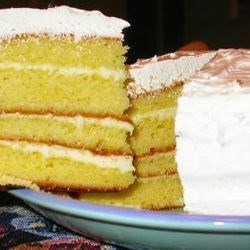 Lemon Ice-Box Cake II Recipe - This easy, luscious cake is actually better made a day or two in advance.  Store in refrigerator until ready to serve.