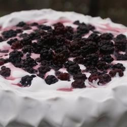 Pavlova's Pavlova Recipe - A crunchy meringue base ready to be topped with whipped cream and your favorite fruit  - named after the famous ballerina!