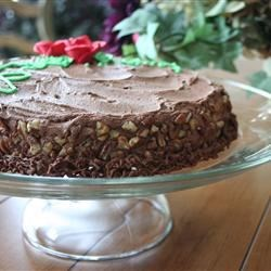 Low Sugar Mocha Nut Cake Recipe - A mocha treat that is lower in sugar than most cakes.  Make sure that the amount of sugar substitute you use works out to be the equivalent of 1/2 cup white sugar.
