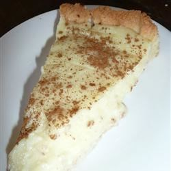 "South African Melktert (Milk Tart) Recipe - ""My 'ouma' South African grandmother's legendary milk tart. It is lip-smacking. The recipe is a real winner. It is a traditional South African tart that is very easy to prepare."""