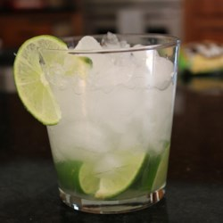 Caipirinha Recipe and Video - Lime and cachaca (Brazilian sugar cane brandy), lightly sweetened. A refreshing and delicious cocktail.
