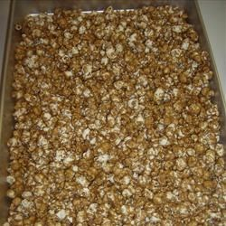 my caramel popcorn