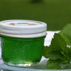 Mint Jelly Recipe - A traditional mint jelly made from fresh mint.