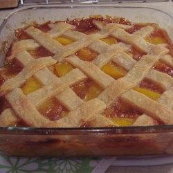 Old Fashioned Peach Cobbler - Review by DISCOBUNNY ...