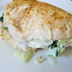 Cottage Cheese Spinach Chicken