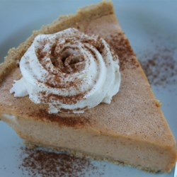 Easy Freezy Pumpkin Pie Recipe - We made this recipe in third grade and the teacher sent a copy of the recipe home. I loved it so much I insisted my Mom make it, too. Ever since then it's become a Thanksgiving tradition each year. It has lasted the test of time because now I'm a mother of a third grader and we still make it! The pie requires no baking! And kids love it because it's made of ice cream.