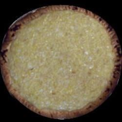 Amish Sauerkraut Surprise Custard Pie Recipe - Don 't let the sauerkraut keep you from trying this recipe for a delicious Amish-style pie that will remind you of a coconut custard pie.