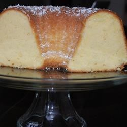 Grandma's Sour Cream Pound Cake Recipe - This is a moist pound cake that is baked in a Bundt pan. This is a recipe the whole family loves. It's always a hit!