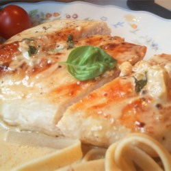 Chicken Milano Recipe - A delicious pasta and chicken dish with garlic, sun-dried tomatoes and fresh basil. Serve with crusty bread.