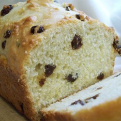 Irish Soda Bread I Recipe - A white soda bread with sour cream and raisins, this rich version is cake-like in texture.