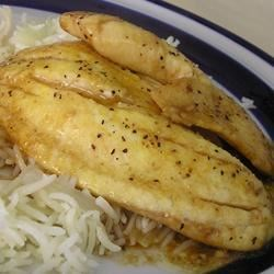 Oyster Sauce Fish Recipe - In this quick and easy stovetop recipe, fish fillets are sprinkled with lemon butter and garlic powder and cooked with oyster sauce.