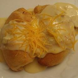 Creamy Chicken Crescents