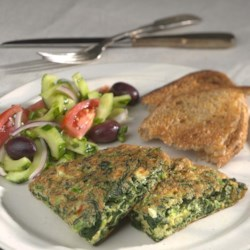 Chile, Potato & Cheese Omelet Recipe - EatingWell.com