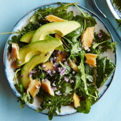 Smoked Trout Salad with Herb & Horseradish Dressing Recipe ...