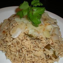 Jeera Fried Rice Recipe - Indian fried rice made with long-grain rice, cumin, black peppercorns, and onions.